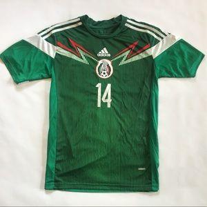 ⚽️ Chicharito #14 Mexico Adidas Zero Futbol Jersey